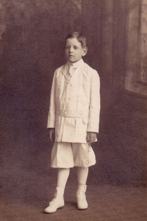 Edward Carroll first communion