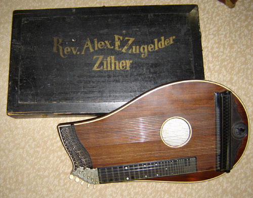 Fr. Zugelder's zither