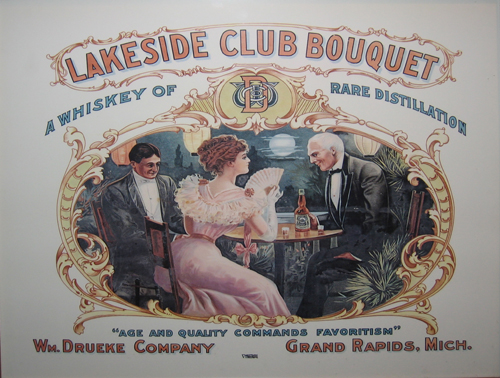 Lakeside Club Bouquet Poster