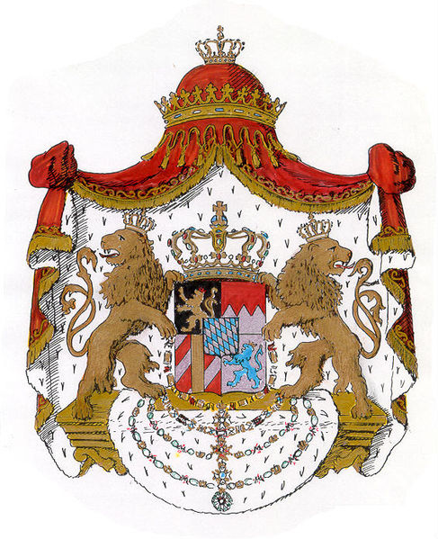Arms of the Kingdom of Bavaria, 1835