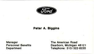 Ford card