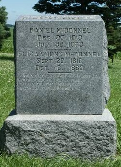 McDonnel Tombstone
