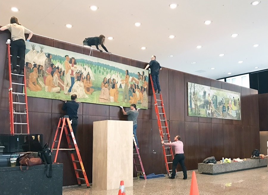 murals are reunited