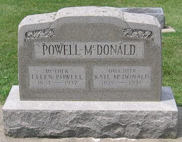 Powell McDonald Tombstone