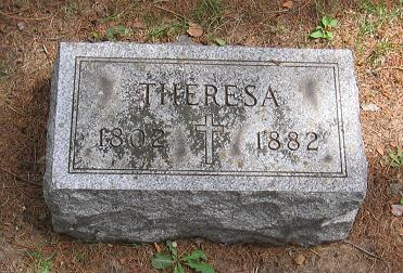 Theresa Berles tombstone