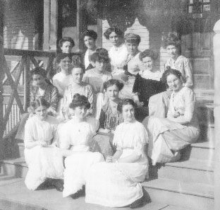 Founders of Theta Phi Alpha
